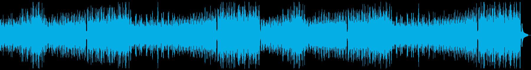 うきうき陽気なオーケストラx2の再生済みの波形