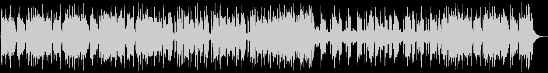 バッドさが全開のヘヴィメタル系BGMの未再生の波形