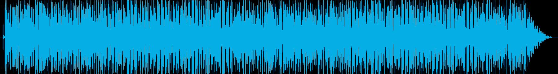 お正月イメージのシンプルな尺八ループ曲の再生済みの波形