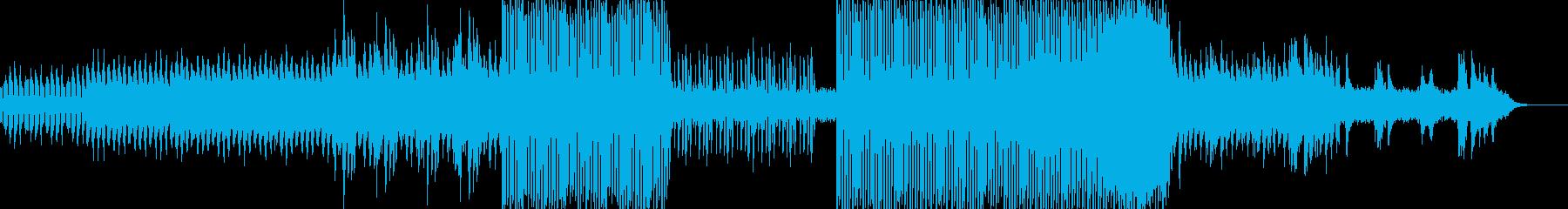 月夜をイメージしたグルーヴ感のある曲で…の再生済みの波形