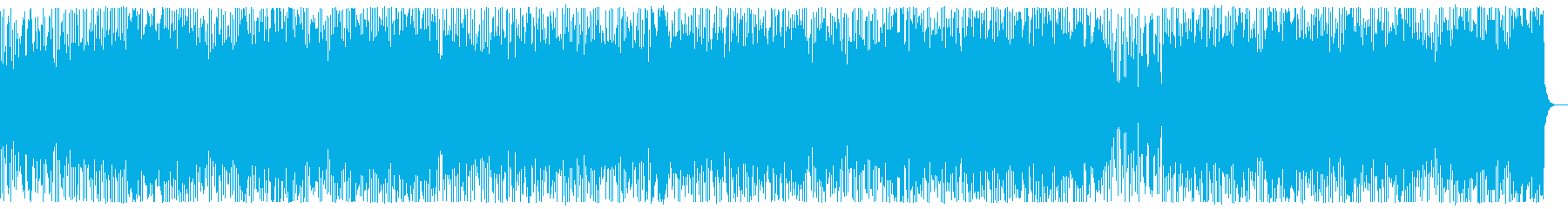 陽気な楽観的なギターファンクラテン...の再生済みの波形