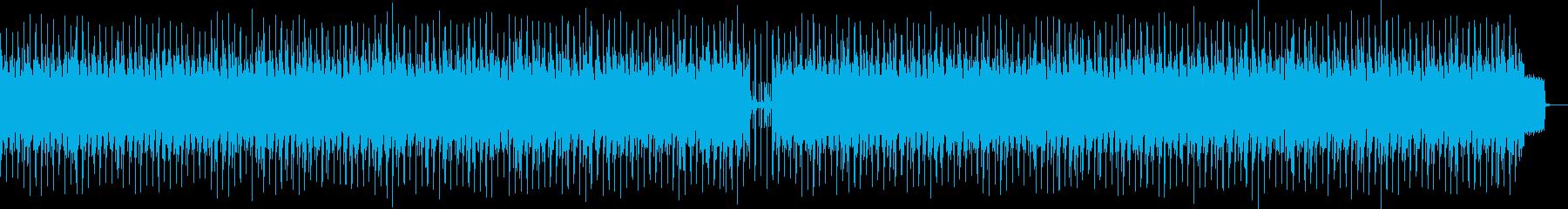 楽しいケルトの再生済みの波形