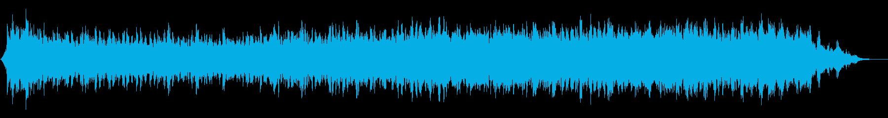 ヒーリング、リラックス向けのアンビエントの再生済みの波形