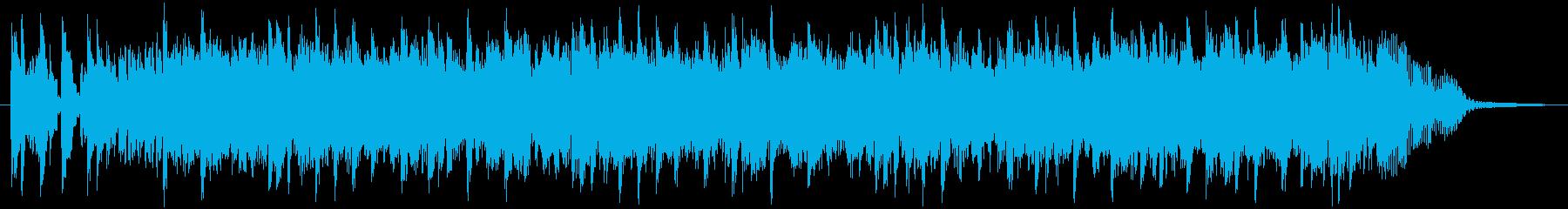スピード感溢れるファンク&シンセの再生済みの波形