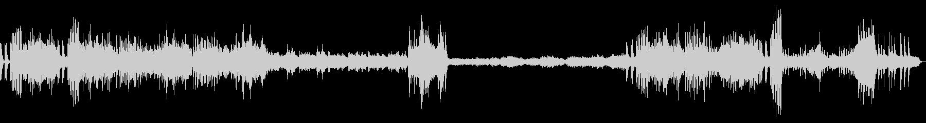 和風「結婚行進曲」-太鼓で入場の未再生の波形