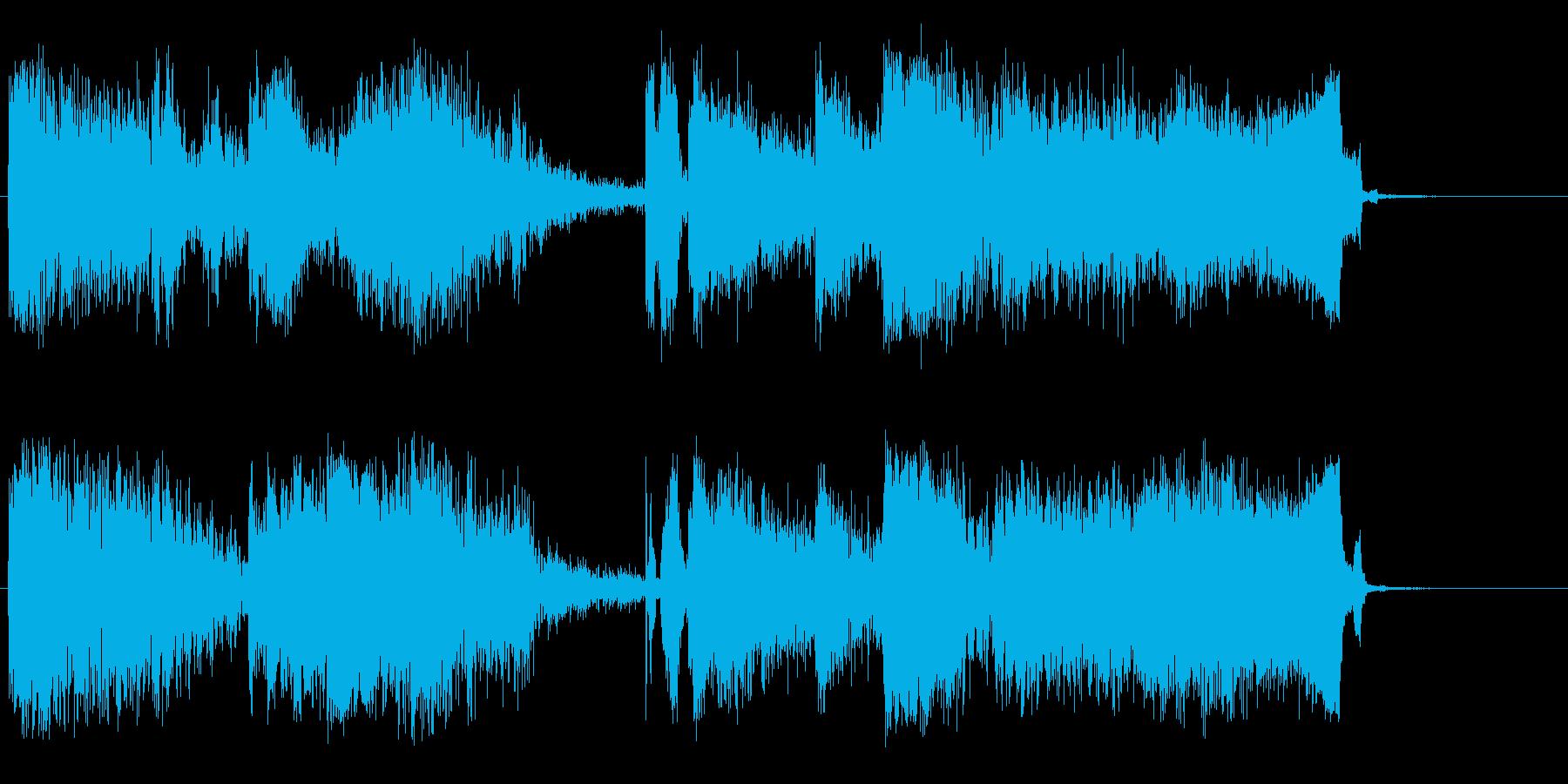 バトルゾーンの再生済みの波形