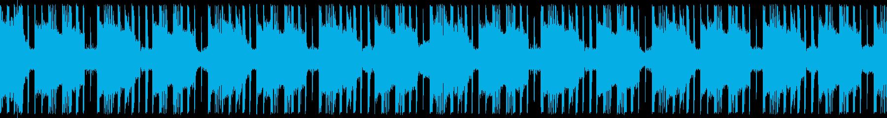 トラップ hiphop ループ仕様 の再生済みの波形