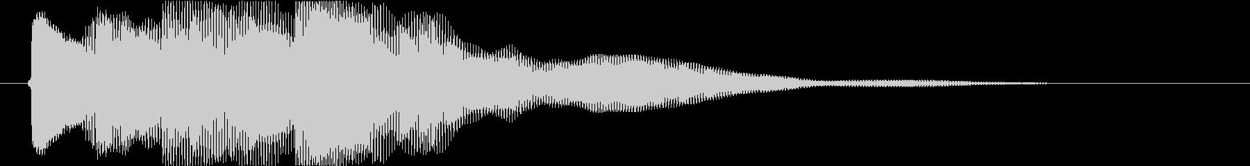 ピンポンピンポンピンポンの未再生の波形