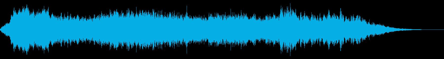ディズニー風 シリアス エンディングの再生済みの波形