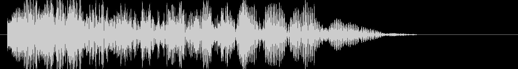 爆発・衝撃波・ソニックブーム2の未再生の波形