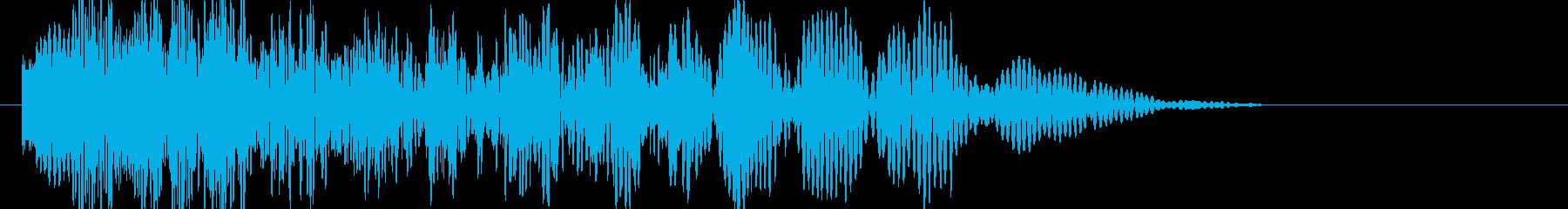 爆発・衝撃波・ソニックブーム2の再生済みの波形