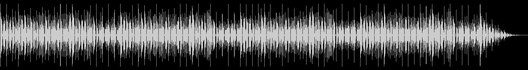 童謡「ちょうちょ」脱力系アレンジの未再生の波形