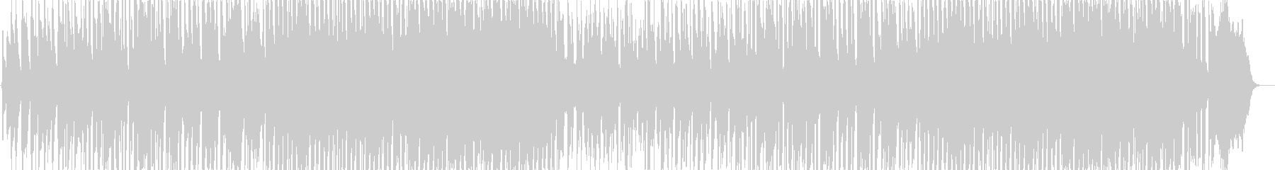 聞き馴染んだ旋律でスローフォックスをの未再生の波形
