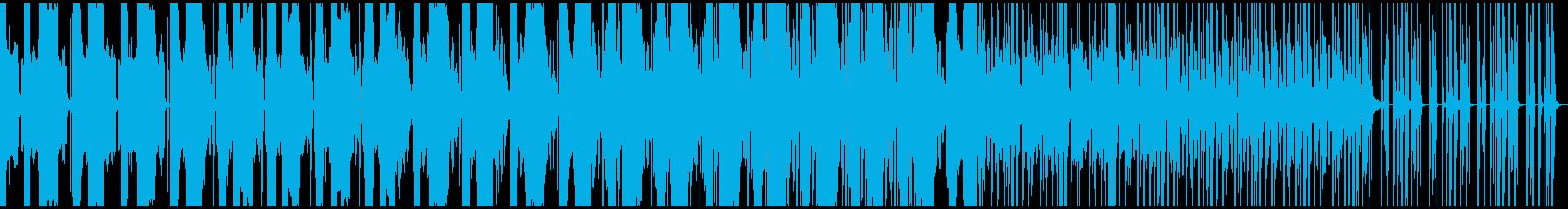 不気味な音が特徴的なトラップの再生済みの波形