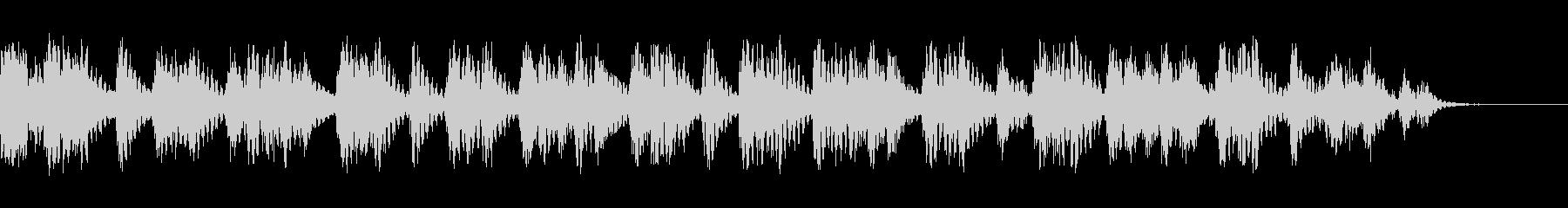 ラバーベッドの未再生の波形
