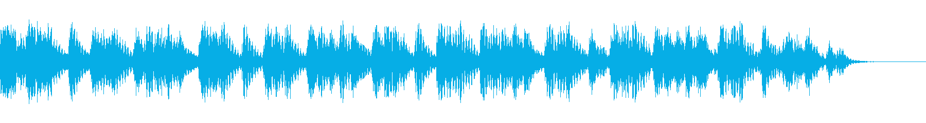 ラバーベッドの再生済みの波形