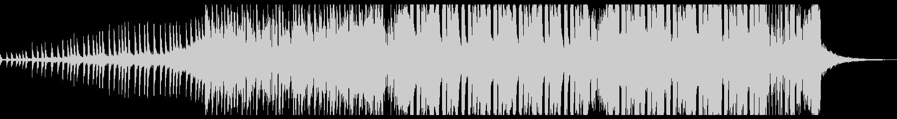 夏らしいサウンドのメルボルンバウンスの未再生の波形