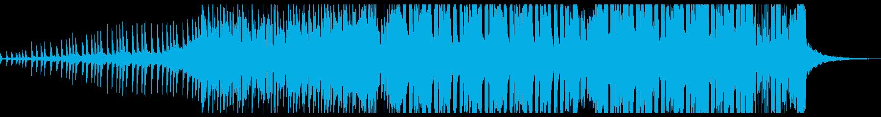 夏らしいサウンドのメルボルンバウンスの再生済みの波形