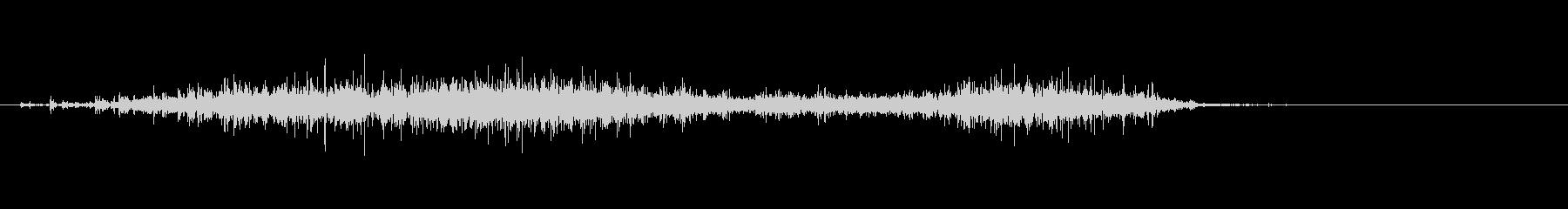 ビリッ(紙を破る音)05の未再生の波形