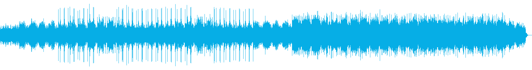 出会いの機微を歌ったドラマチックな楽曲の再生済みの波形