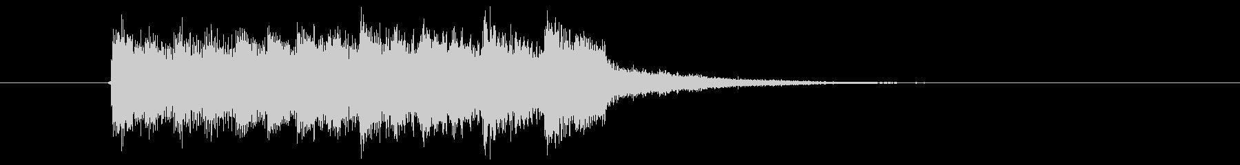 シリアスなシンセサイザー音(ミステリー)の未再生の波形