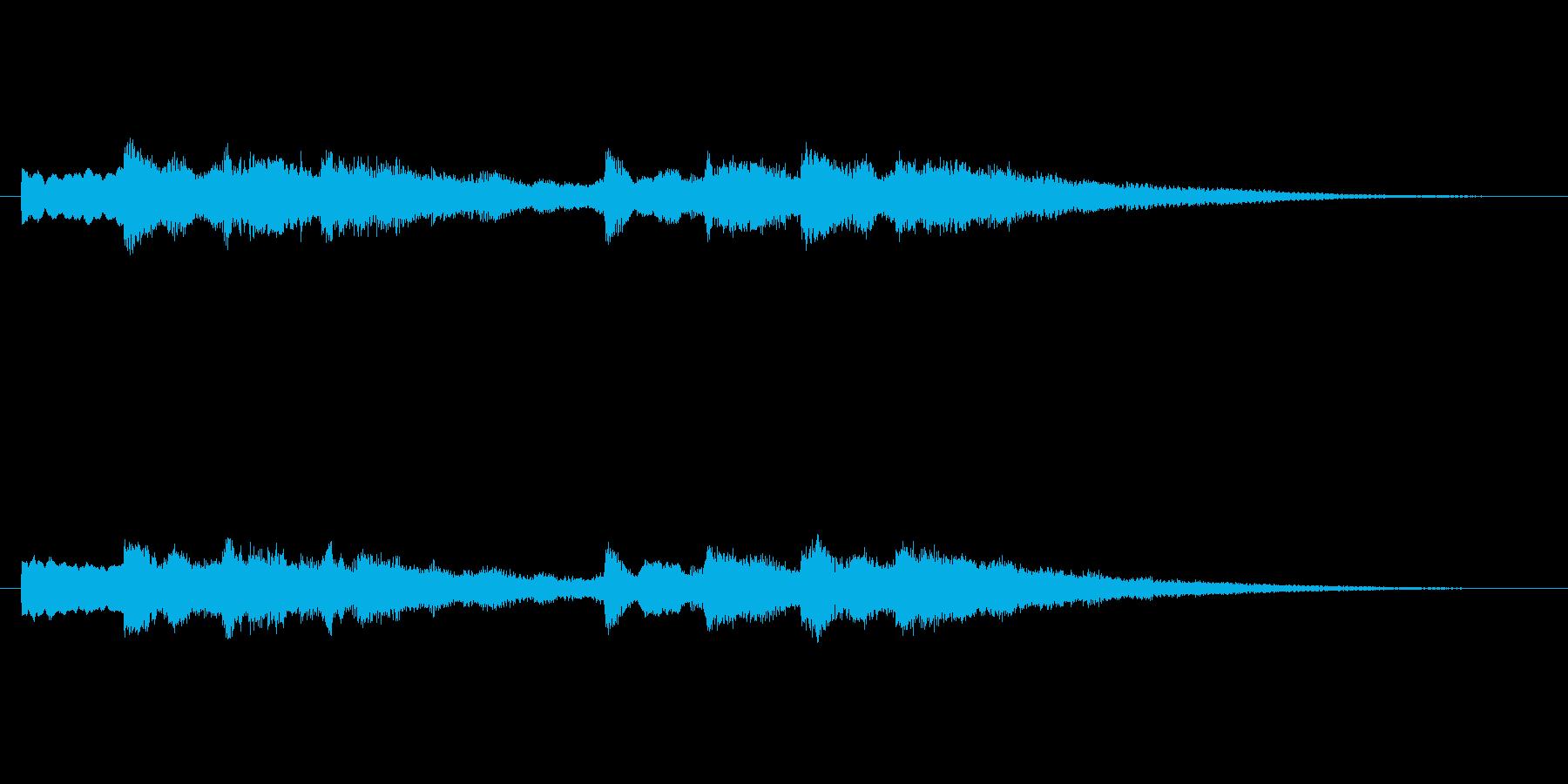 【チャイム 学校03-11】の再生済みの波形