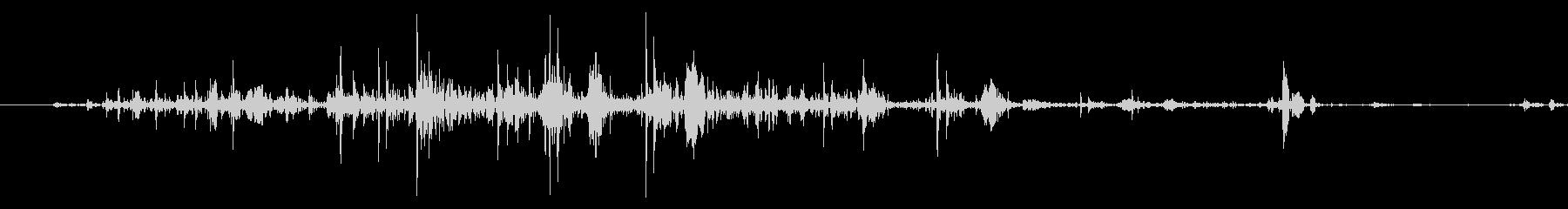 ネバネバ、ヌメヌメとした不気味な音B#2の未再生の波形