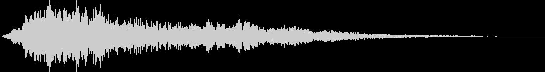 パルサーロゴ2の未再生の波形