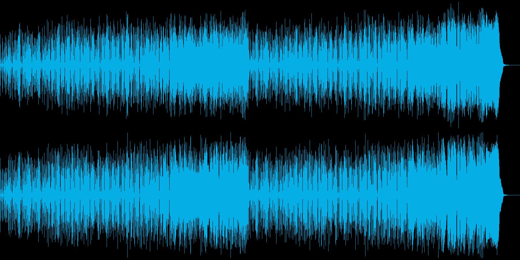 クールでちょっと滑稽なジャズの再生済みの波形