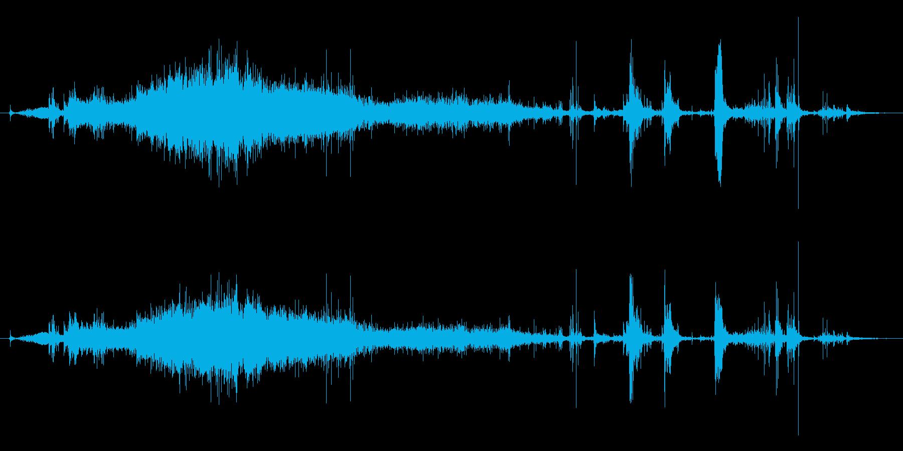 メタリック摩擦スクレープ、メタルフ...の再生済みの波形