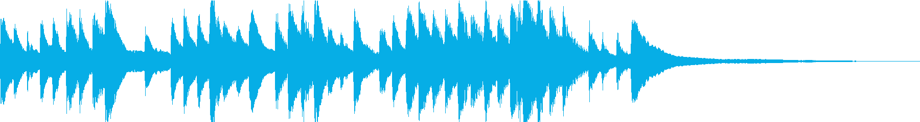 ゲーム・CM向け穏やかなピアノソロの再生済みの波形