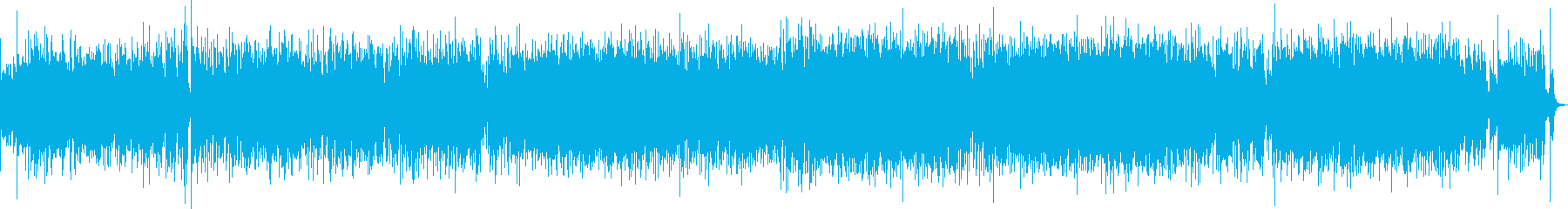疾走感あふれるピアノ・ラテンジャズの再生済みの波形