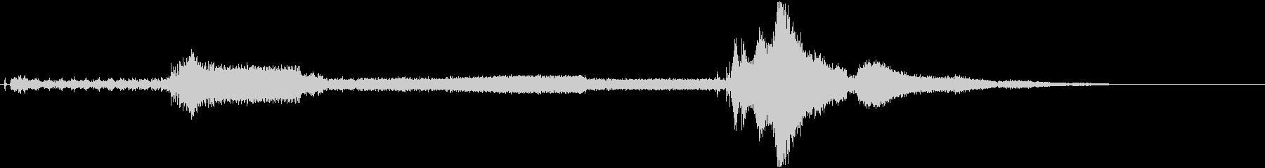 陸軍ジープ:スタート、レブ、アウェイの未再生の波形