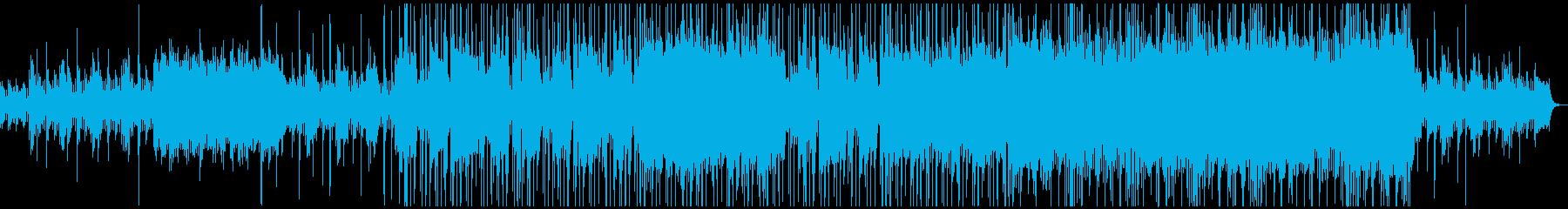 ジブリ風の不思議でわくわくな雰囲気の楽曲の再生済みの波形