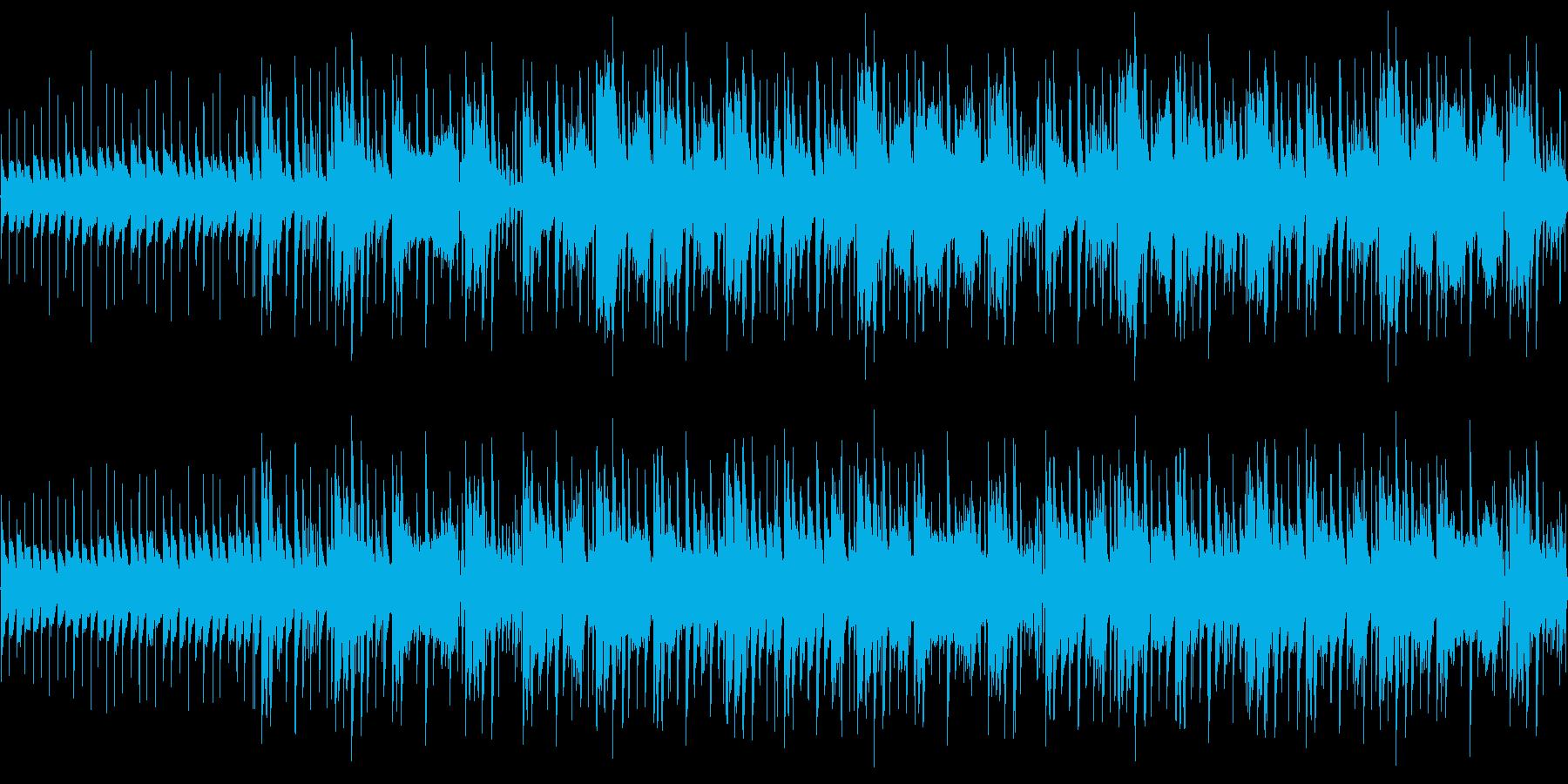 【エレクトロニカ/TRAP/ポップ】の再生済みの波形