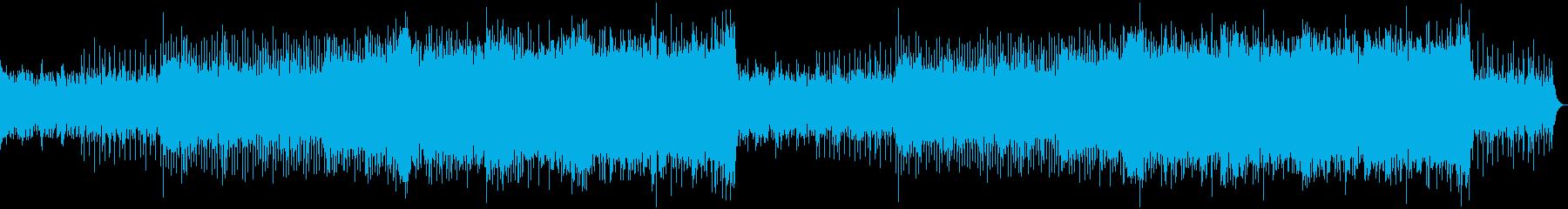 和風・EDM・爽やか・疾走感の再生済みの波形