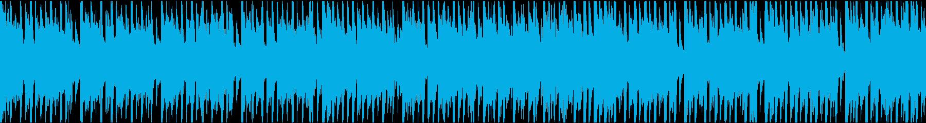 39秒でサビ、琴、電子音ダーク/ループの再生済みの波形