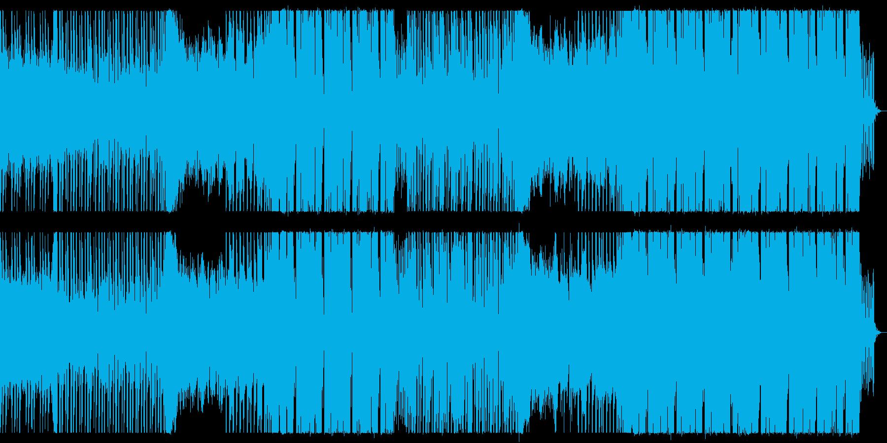 優しい雰囲気のポップスの再生済みの波形