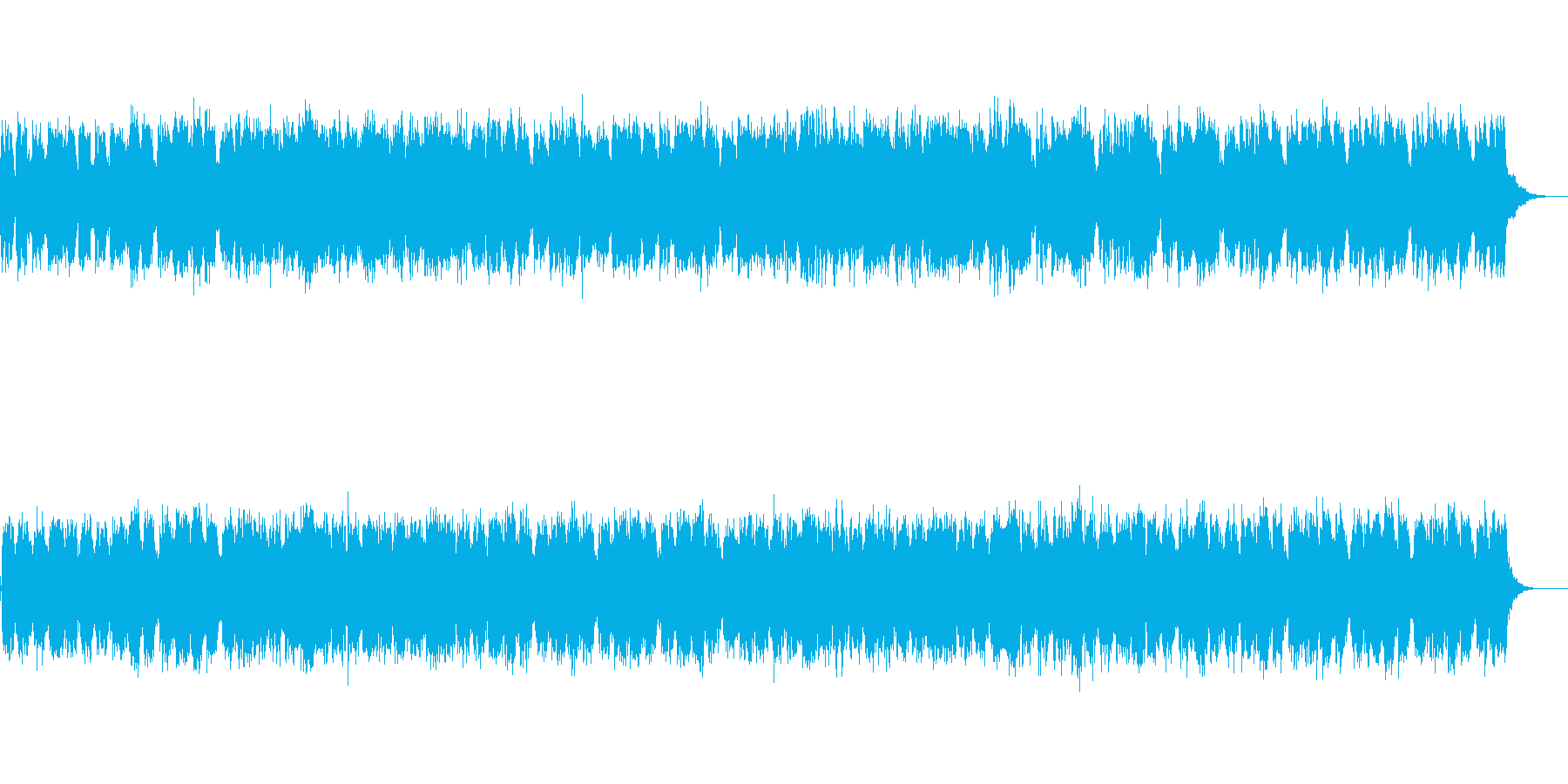 ふるさと・ほっこり・NewAge・シンセの再生済みの波形