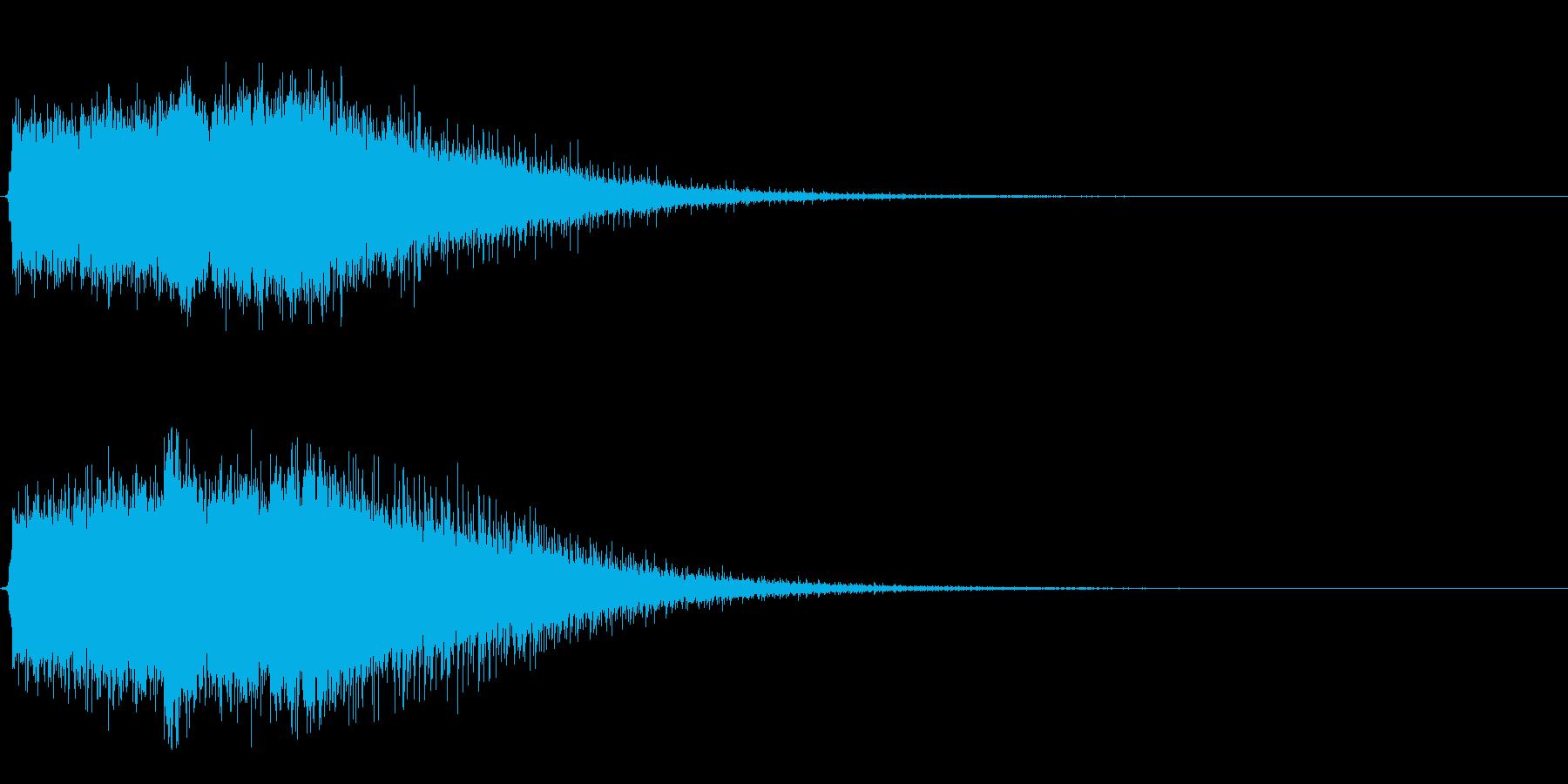 Dark_Attack-34_Delayの再生済みの波形