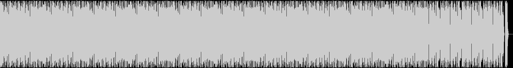 ダンサブルなビートにおしゃれなコードの未再生の波形