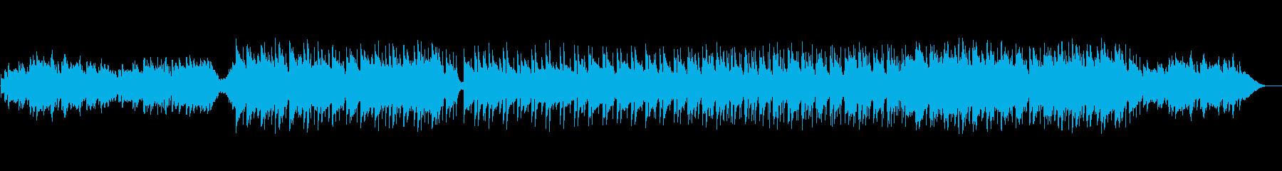 伝統的な和風継承寂しげなBGMの再生済みの波形