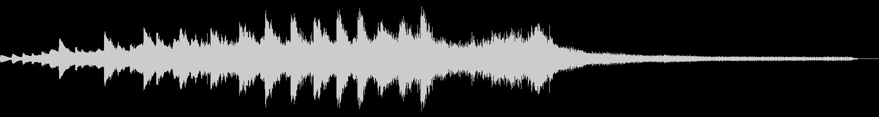 舞う和風ジングル24-ピアノソロの未再生の波形