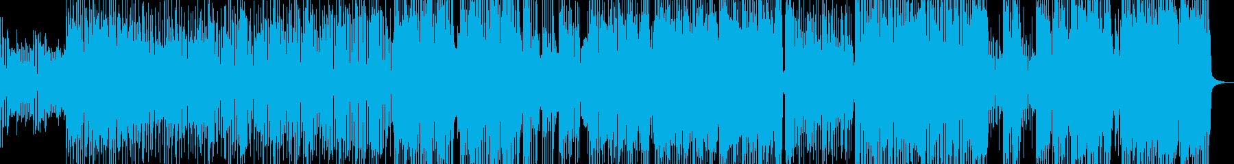 徐々に盛り上がるパレードポップ エレキ無の再生済みの波形