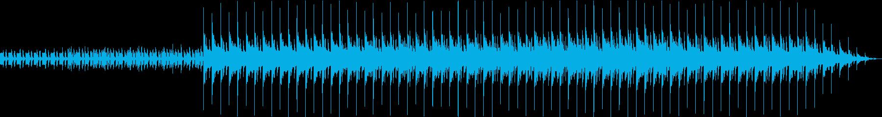 閉幕、終演などの際に流れるコミカルな曲の再生済みの波形
