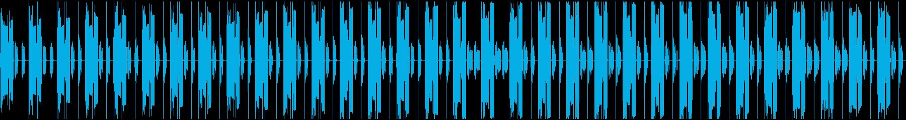 暗い曲で、繰り返しが多い単純な曲ですの再生済みの波形