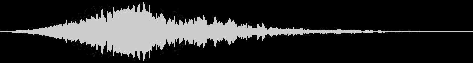 【映画タイトル】ロゴ_2 シネマティックの未再生の波形
