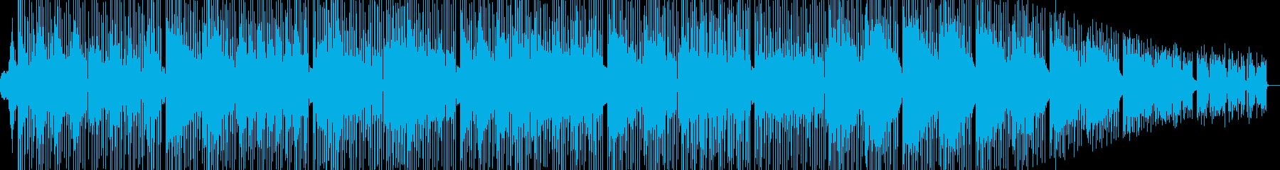おしゃれなダウンテンポの曲です。の再生済みの波形