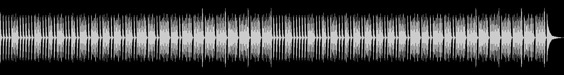 ミニマル・ピアノソロ・シンプル・日常の未再生の波形