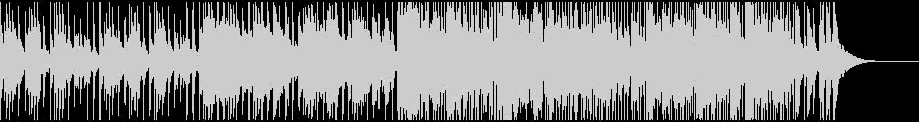 和楽器のみを使用したかっこいいBGMの未再生の波形